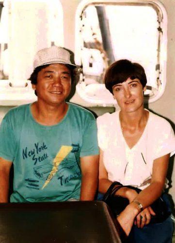 С капитаном японского корабля
