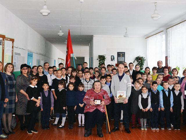 6 декабря 2019 года в Базовской средней общеобразовательной школе Чулымского района Новосибирской области был проведен урок мужества.