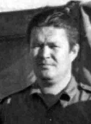 Советник начальника оперативного отдела 19-й пехотной бригады в Анголе подполковник Данилов Леонид Алексеевич. Умер при исполнении интернационального долга 7 ноября 1978 года.