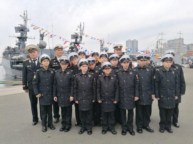 Члены Представительства РОО «СВА» на Дальнем Востоке приняли участие в праздновании 290-летия ТОФ.