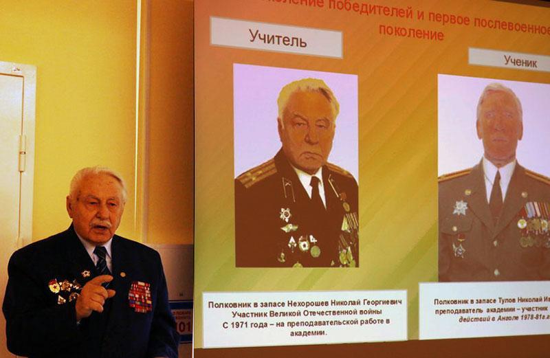 Полковник в отставке Нехорошев Н. И. рассказал о личном участии в битве под Курском.